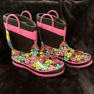 Western chief girls boots flower print size 2/3